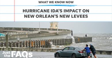 How New Orleans' levees are holding up against Hurricane Ida | Just the FAQs