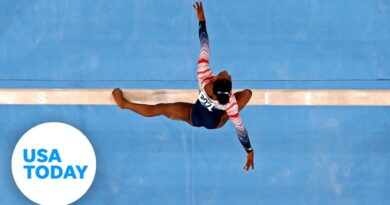 Simone Biles speaks about mental health and decision to pull out of events before beam | USA TODAY