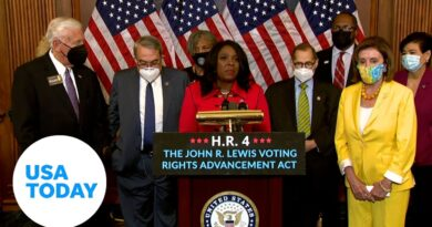 House approves John Lewis Voting Rights Act along party lines | USA TODAY